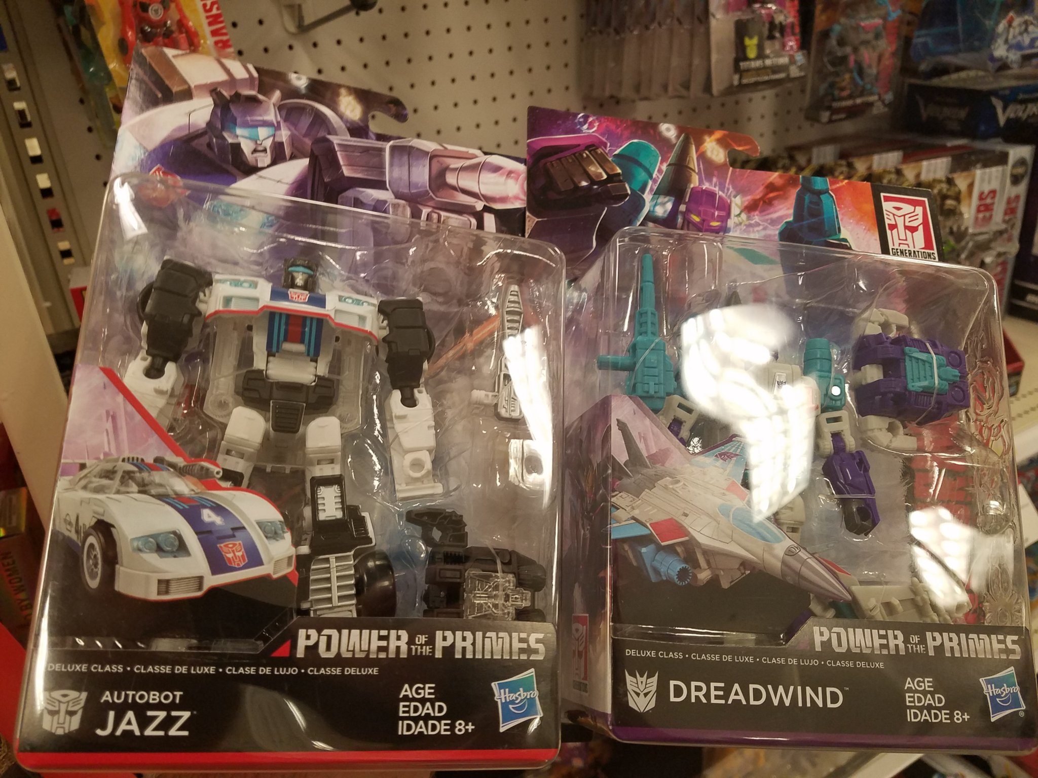 Power Of The Primes Jazz, Dreadwind, Slug and Swoop Out at U.S. ...