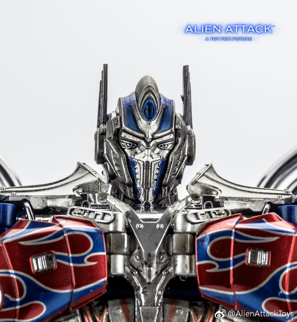 Alien Attack A 01 El Cid Aoe Tlk Optimus Prime New