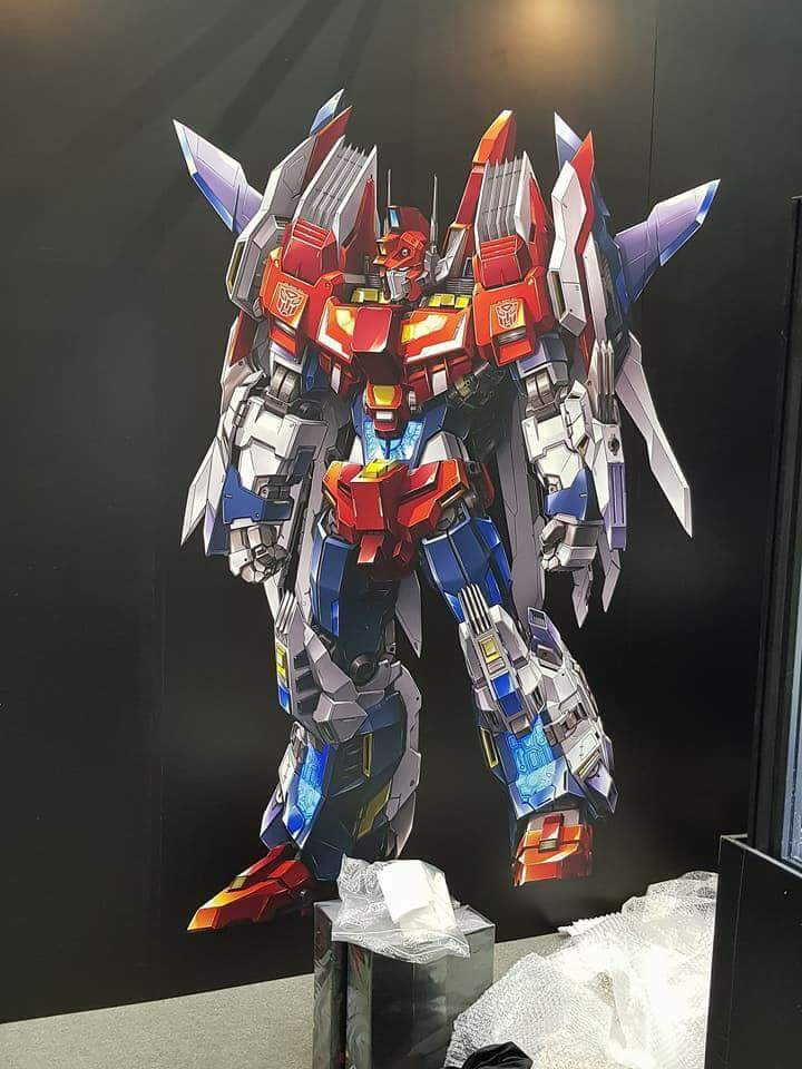 Flame Toys 03 Star Saber Prototype Transformers News Tfw2005