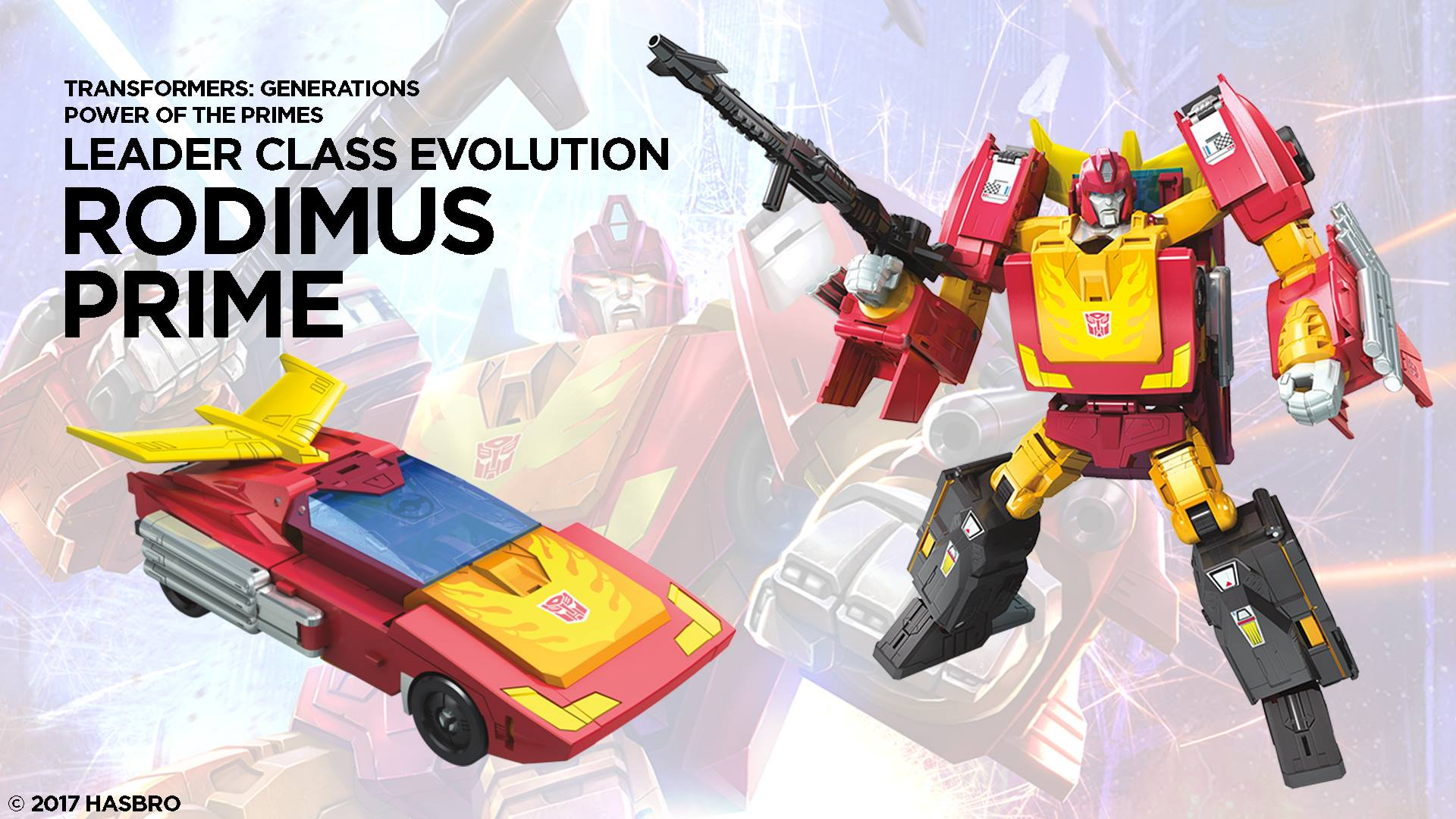 Power Of The Primes Leader Class Wave 1 Rodimus Prime