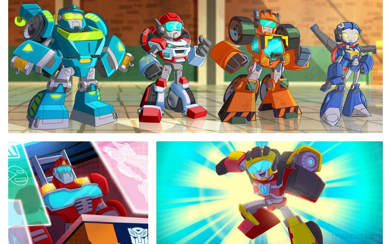 first look at transformers rescue bots academy
