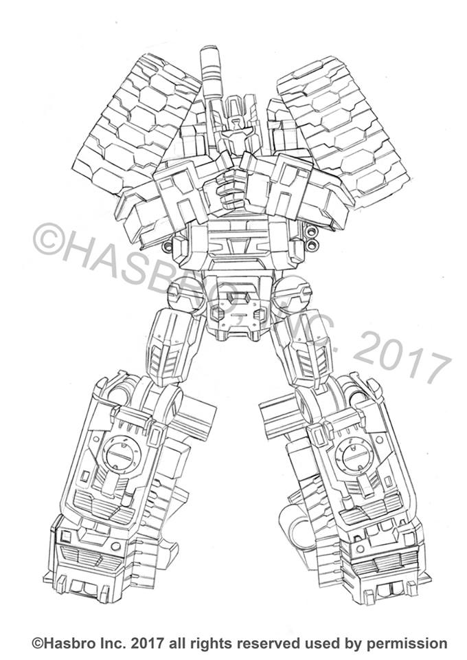 Combiner Wars Packaging Art by