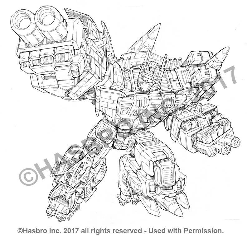 Combiner Wars Packaging Art By Marcelo Matere Computron