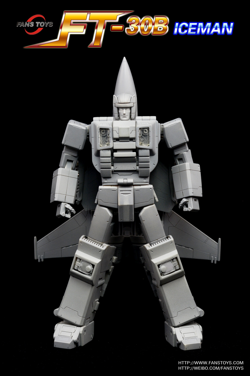 Free Shipping Sites >> Fans Toys FT-30B Iceman (Masterpiece Scale Air Raid) - Transformers News - TFW2005
