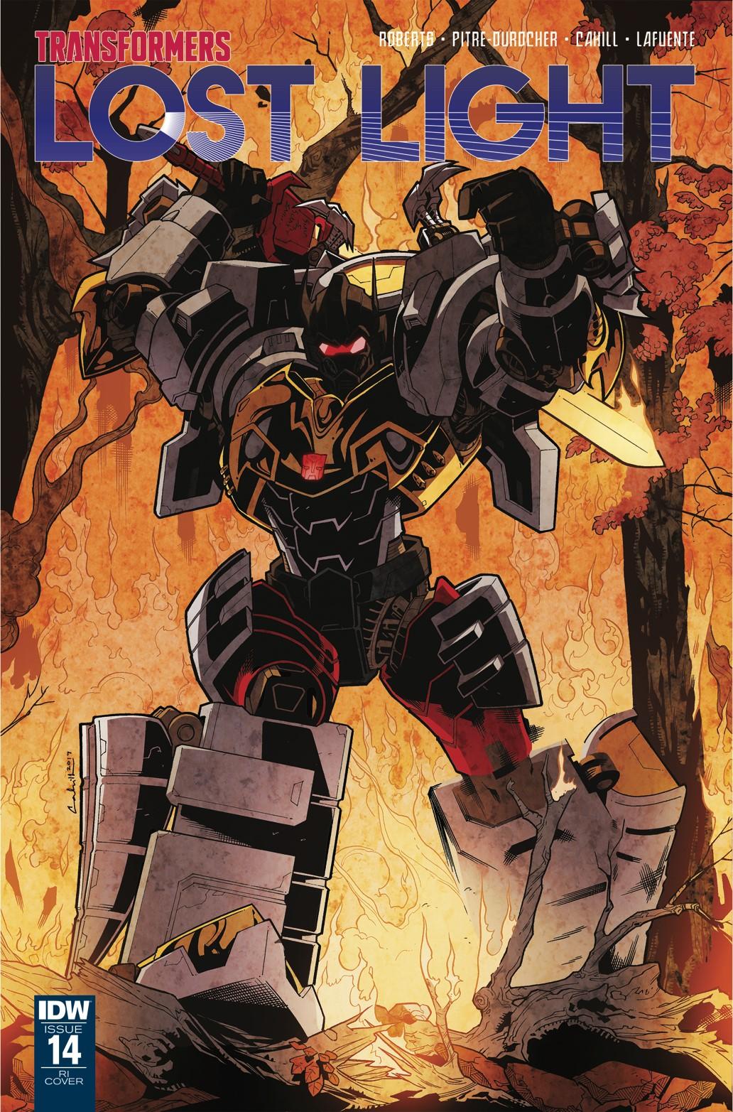 Transformers Lost Light 14 Brendan Cahill Retailer