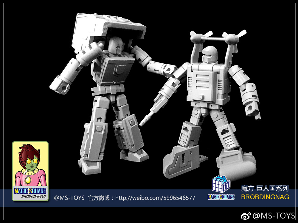 Magic Square Toys Strongman Legends Scaled G1 Huffer