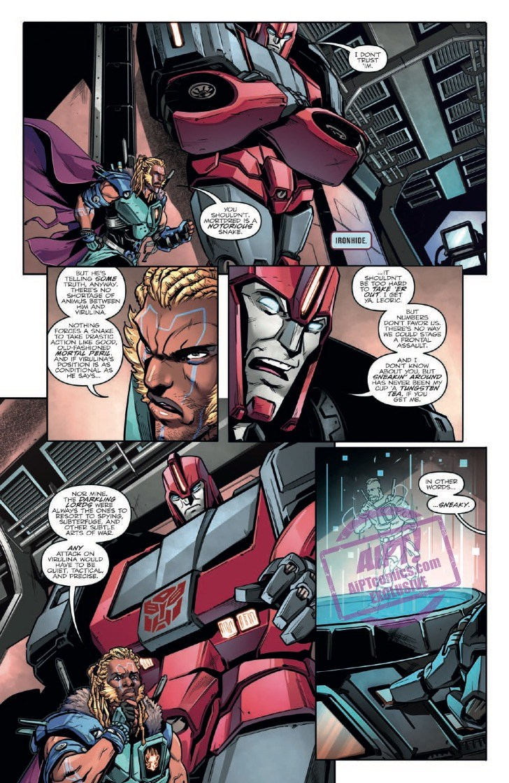 Idw Transformers Vs Visionaries 3 Full Preview