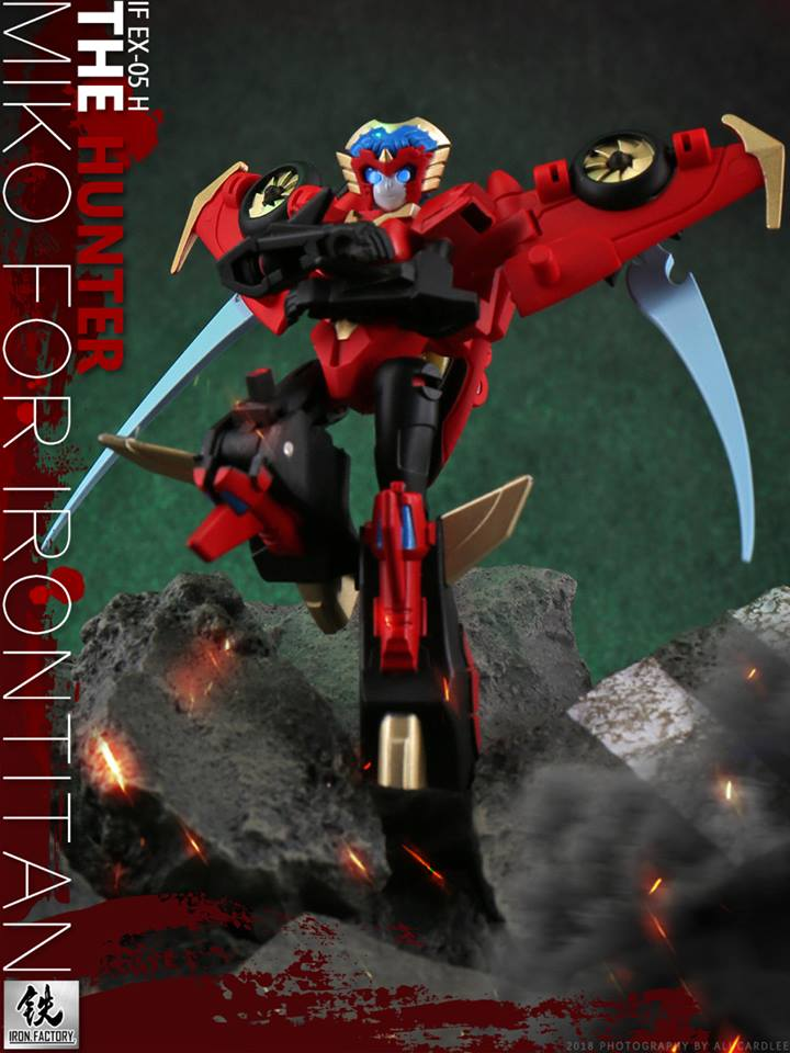 Iron Factory If Ex 05h Miko The Hunter Combiner Hunters