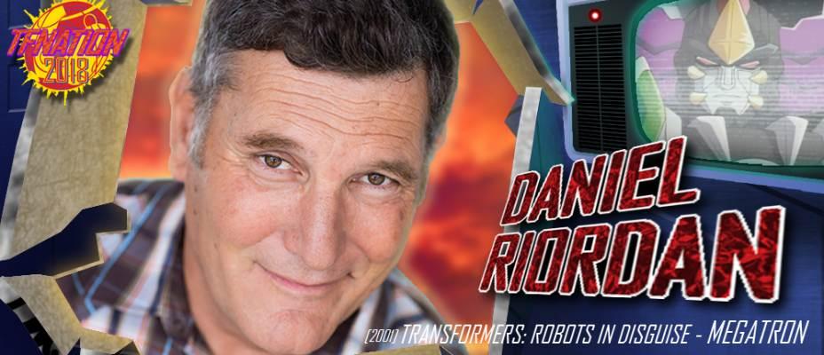 Daniel Riordan to attend TFNation 2018