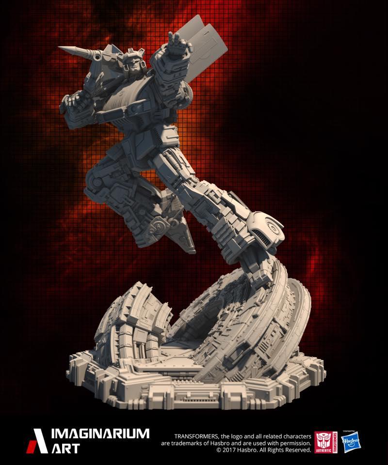 Statues Transformers G1 ― Par Pop Culture Shock, Imaginarium Art, XM Studios, etc - Page 3 Imaigarium-Art-G1-Jazz-statue