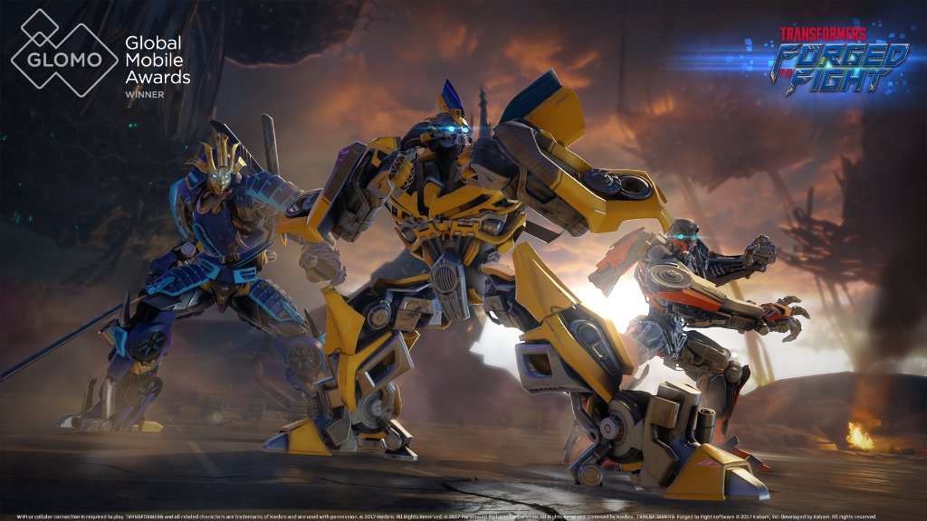 Transformers: Forged To Fight Wins Best Mobile Game Award At