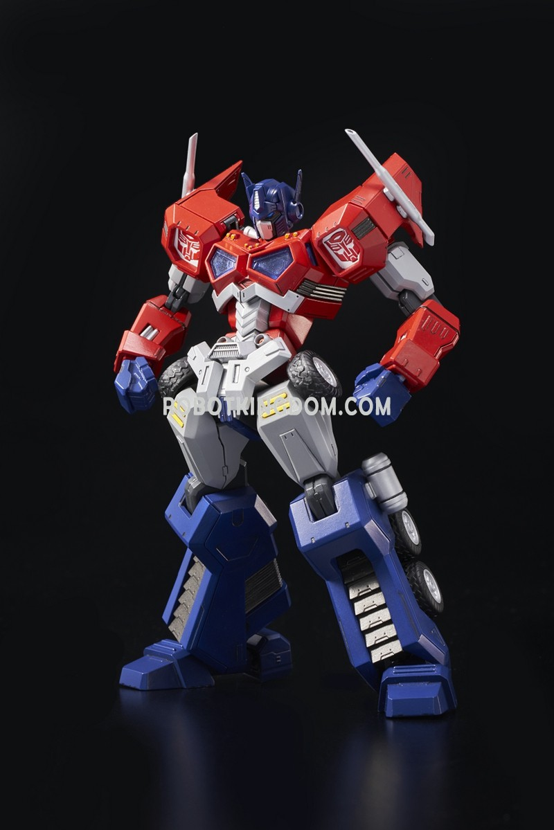 flame toys furai model optimus prime official images - transformers