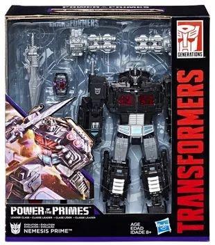 In-Stock Hasbro Transformers Power of the Primes POTP Nemesis Prime Optimus NEW