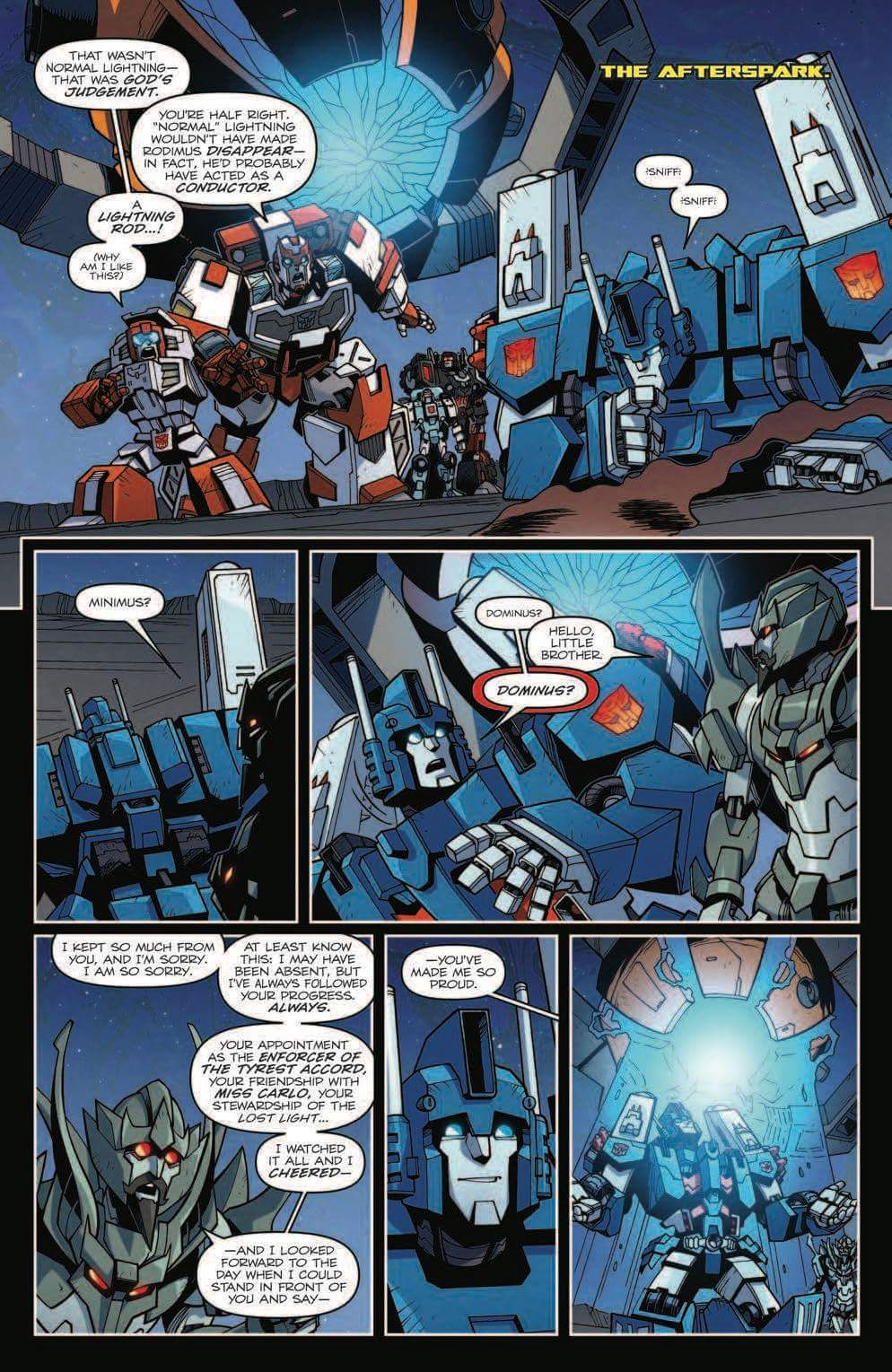 idw transformers lost light 17 full preview