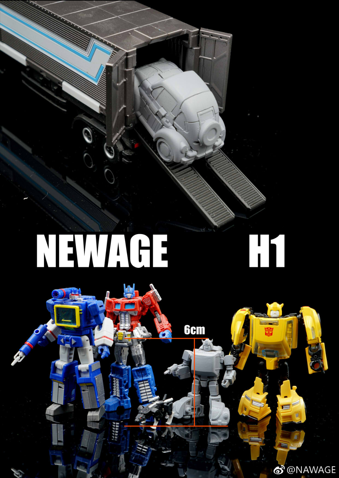 New Age Toys NA H1 Flipper in Stock
