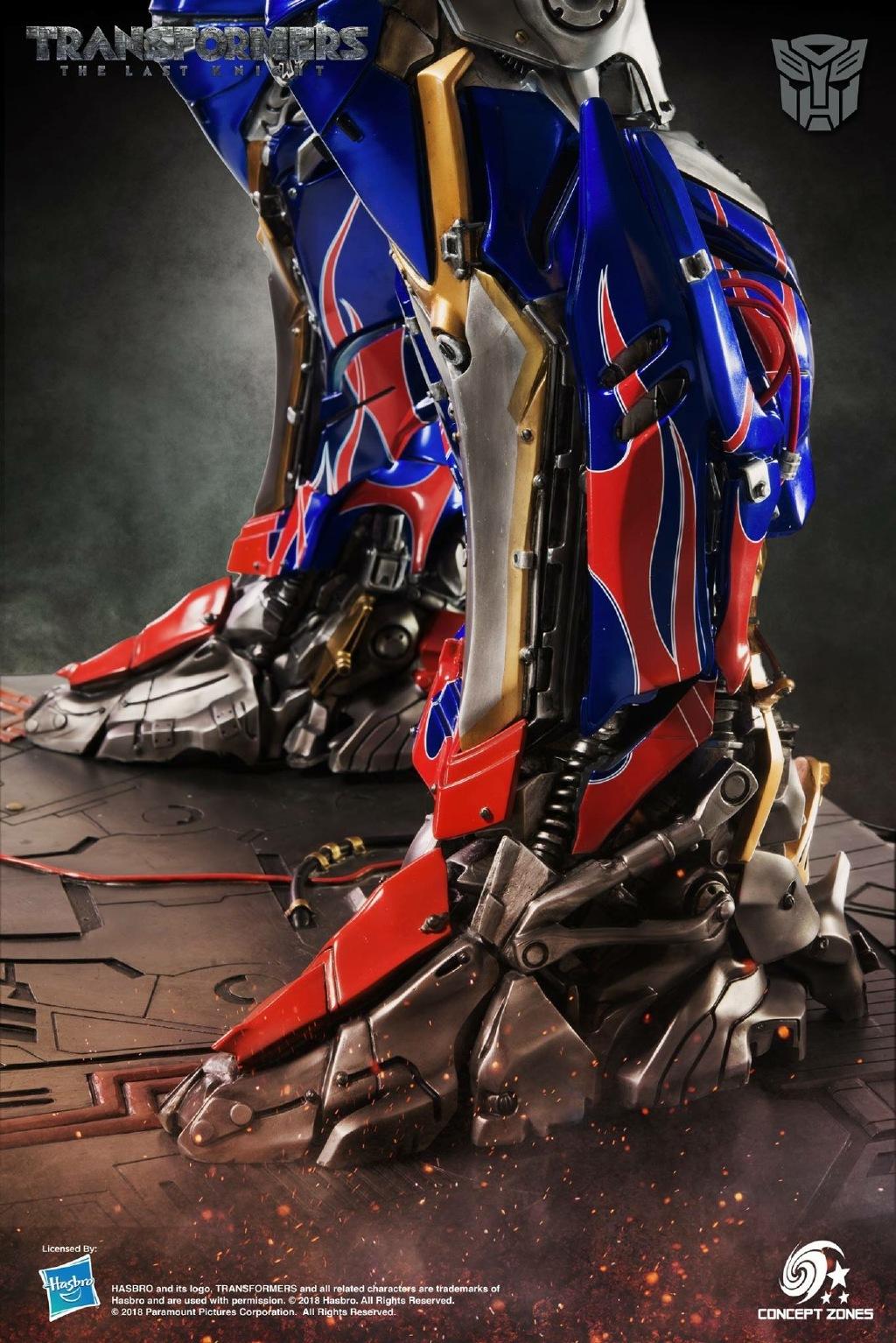 Concept Zones The Last Knight Optimus Prime Statue