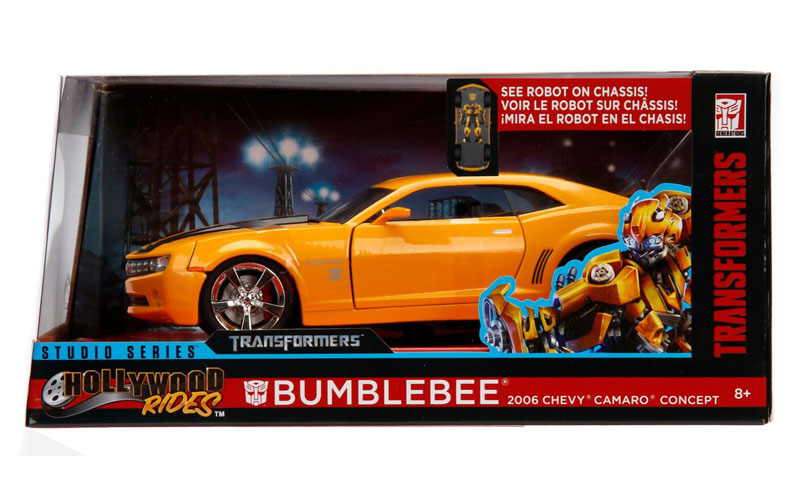 Jada Toys Studio Series Hollywood Rides Bumblebee 2006 And 1977