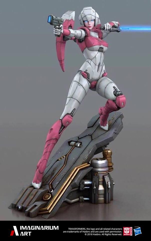 Statues Transformers G1 ― Par Pop Culture Shock, Imaginarium Art, XM Studios, etc - Page 3 Imaginarium-Art-Arcee