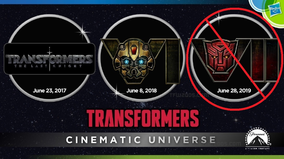 paramount officially removes transformers 7 bumblebee set to reboot the series transformers. Black Bedroom Furniture Sets. Home Design Ideas