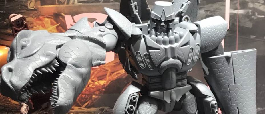 Masterpiece-43 Beast Wars Megatron Grey Prototype Revealed