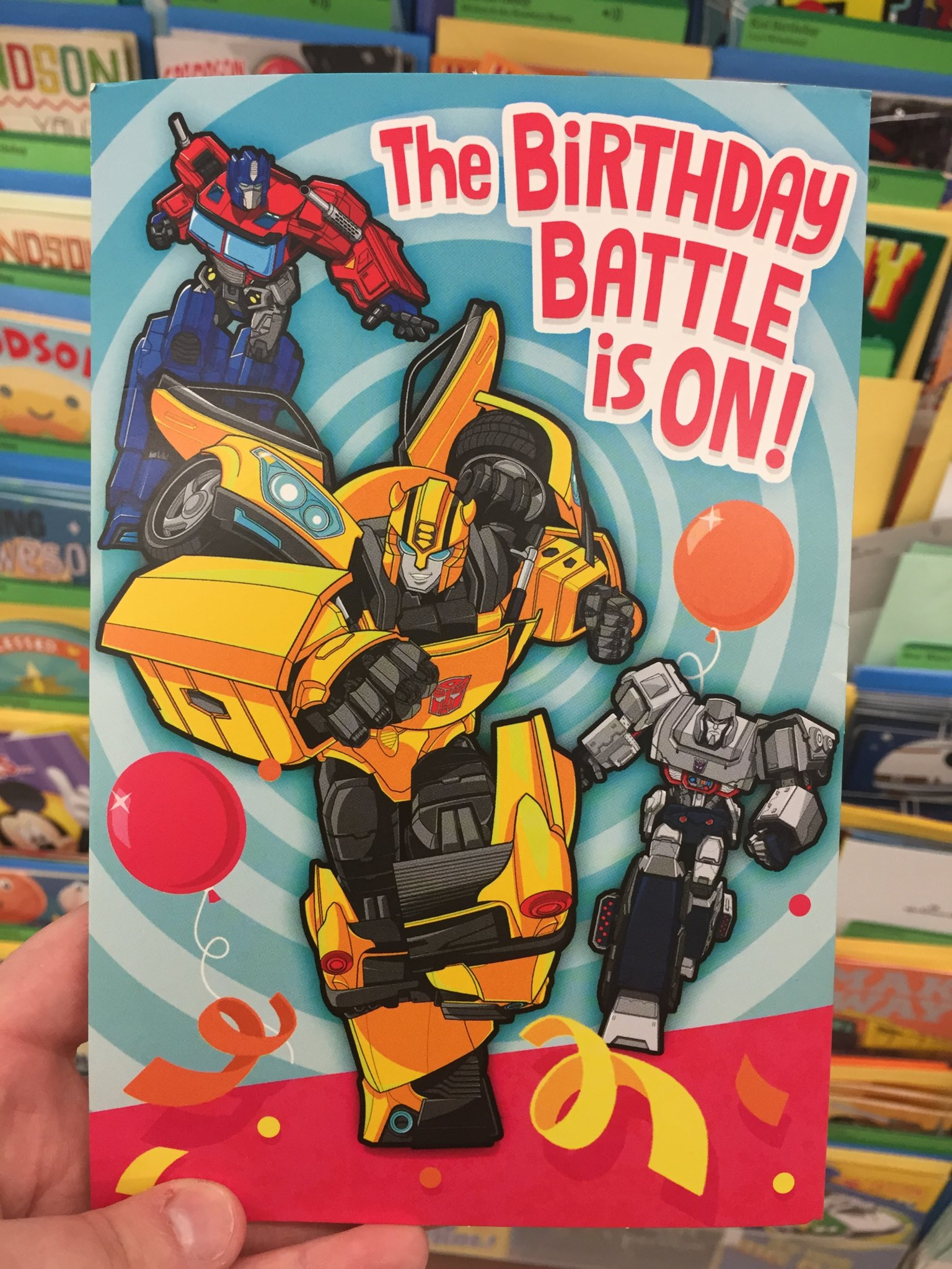 01 Evergreen Birthday Card