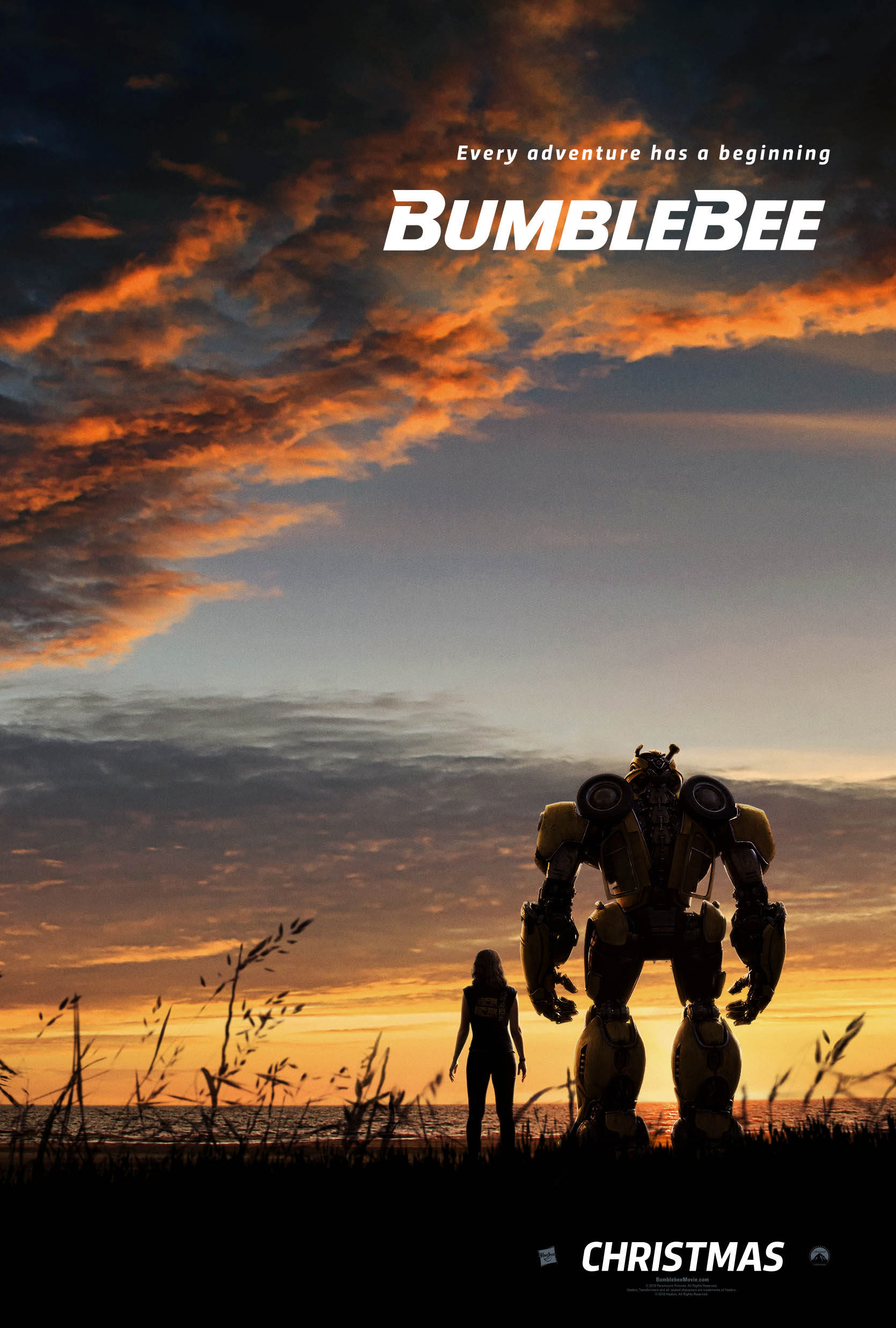 first bumblebee movie poster revealed transformers news
