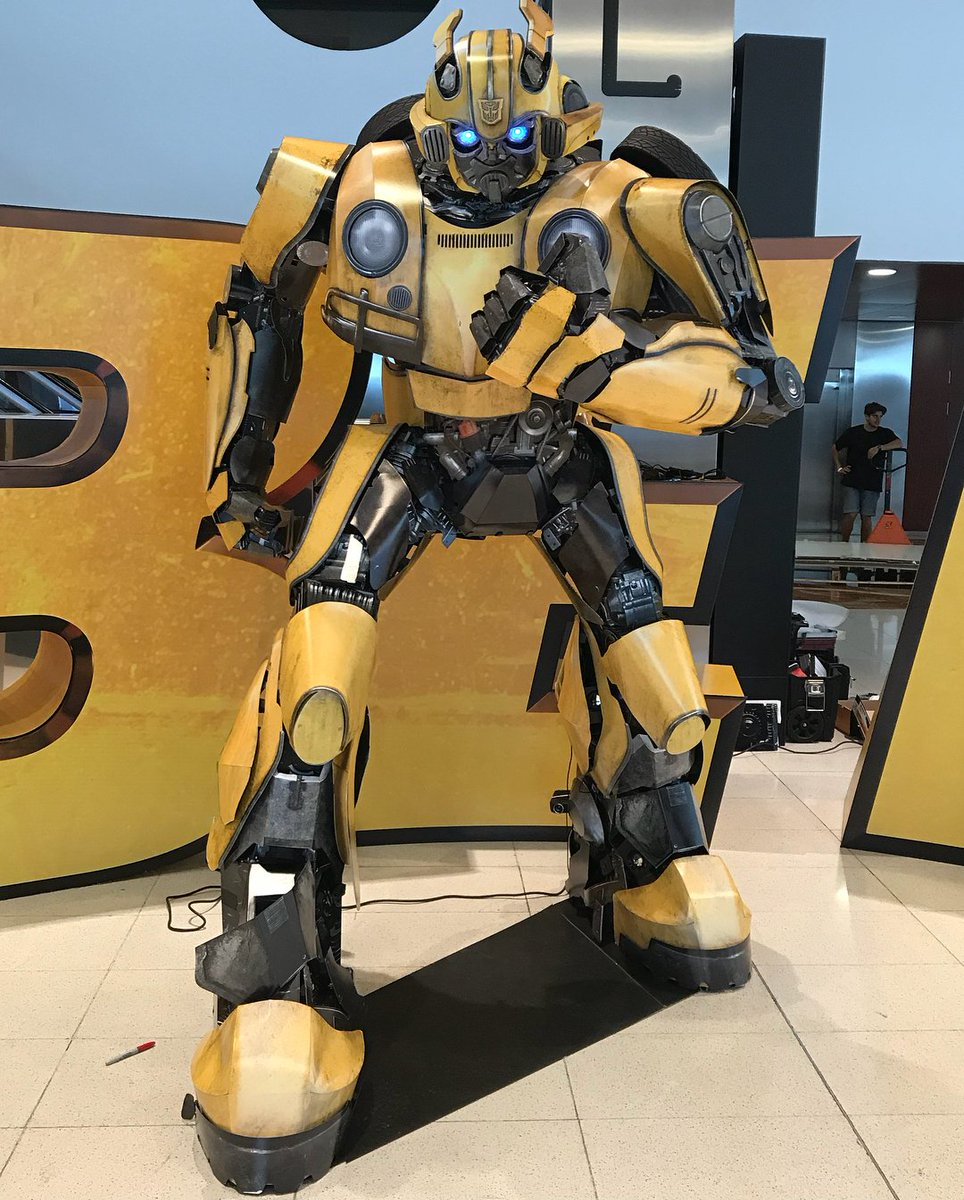 transformers bumblebee movie promotional content at