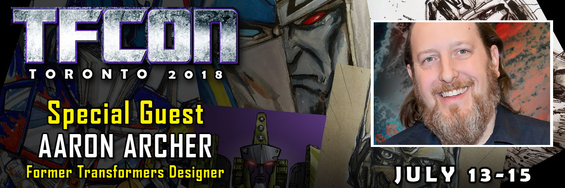 Transformers Franchise Designer Aaron Archer to attend TFcon Toronto 2018
