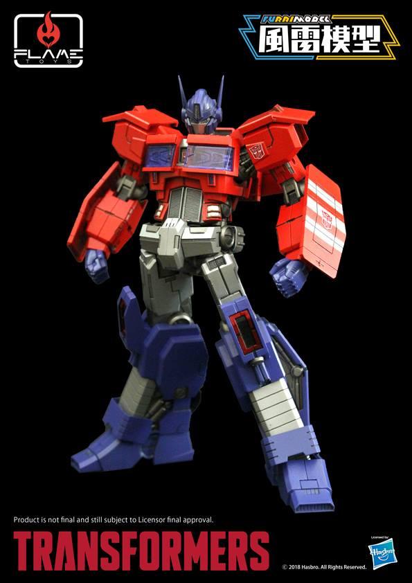 Flame Toys Transformers Optimus Prime Model Kit NEW IN STOCK