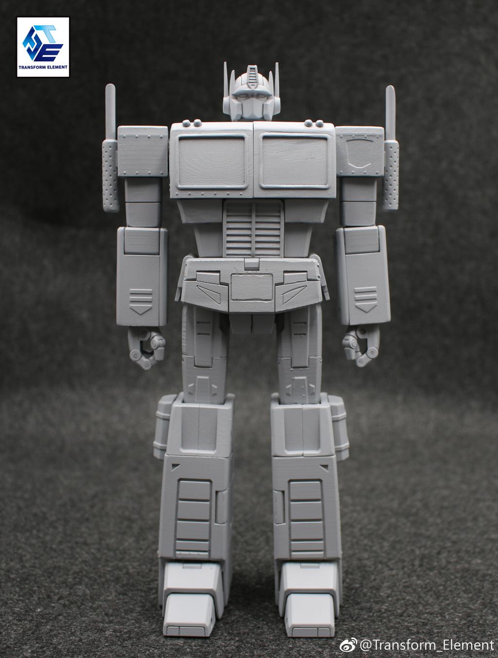 Transform Element Te 01 G1 Optimus Prime Prototype