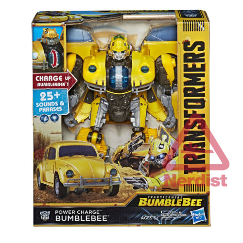 Jouets - Transformers:  Bumblebee Le Film Power-Charge-Bee-01