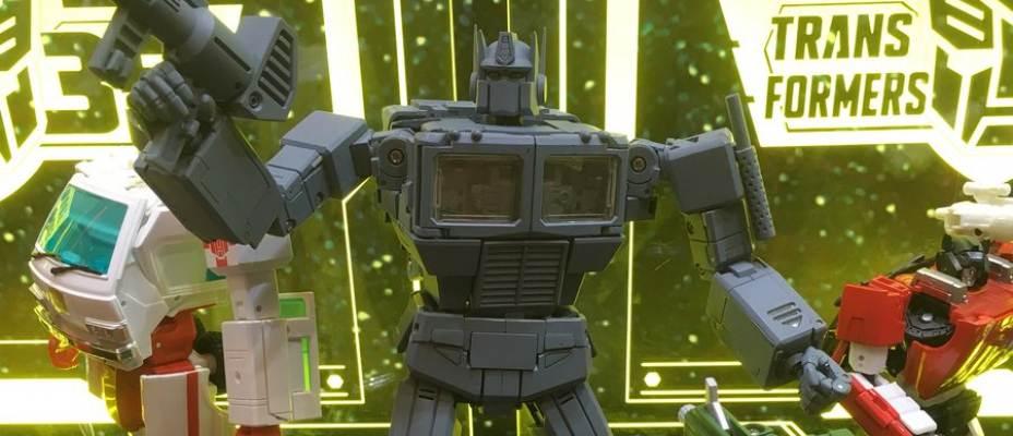 Masterpiece Optimus Prime V3 New Images