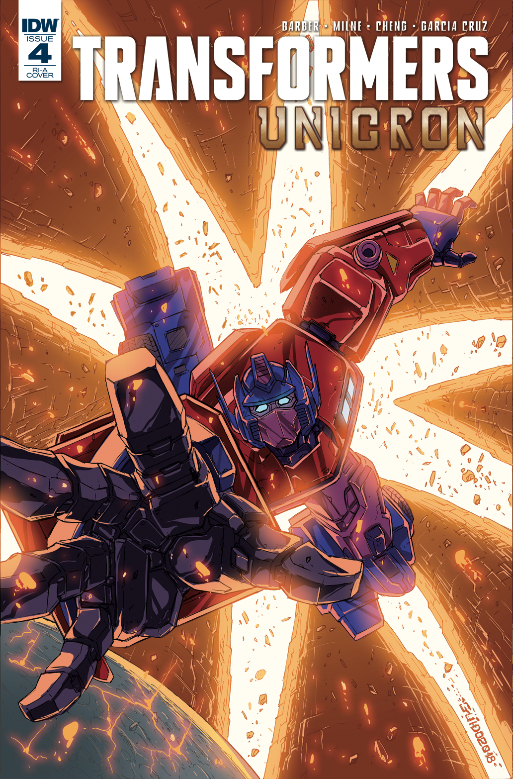 Transformers: Unicron #4 Retailer Incentive Cover A and B ...