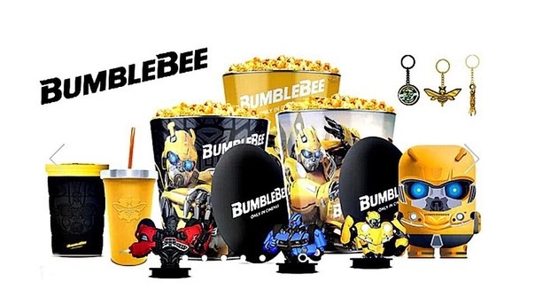 Transformers: Bumblebee Movie Theater Promotional Products