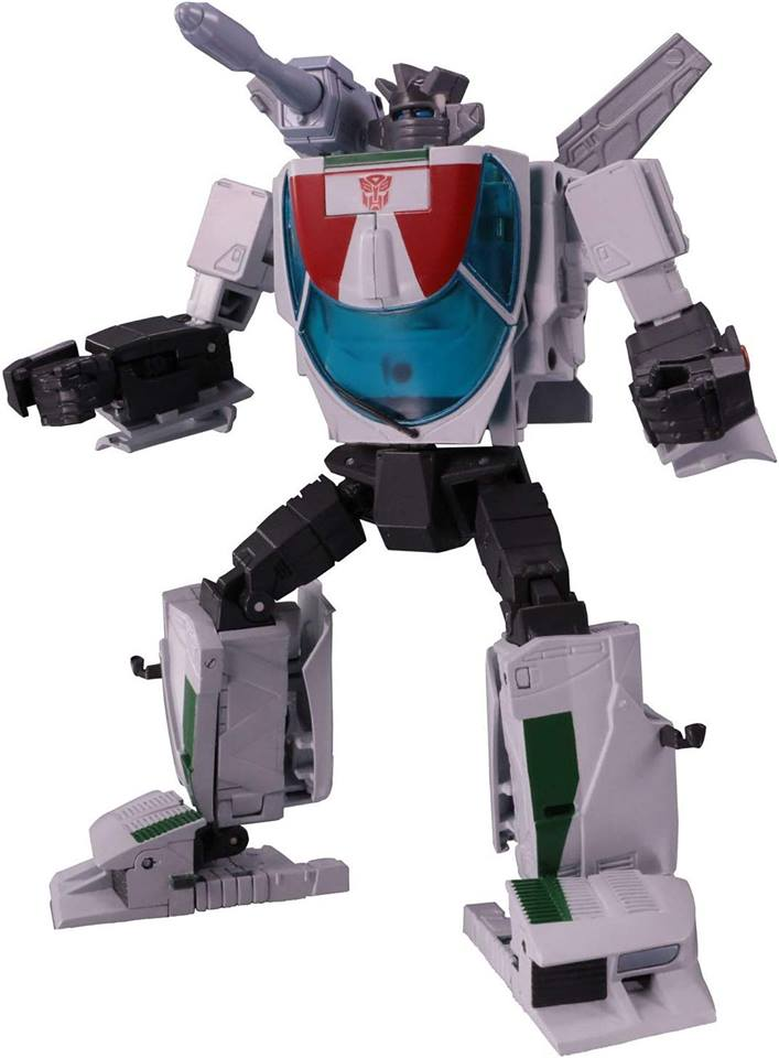 Masterpiece Wheeljack Animation Version Official Images