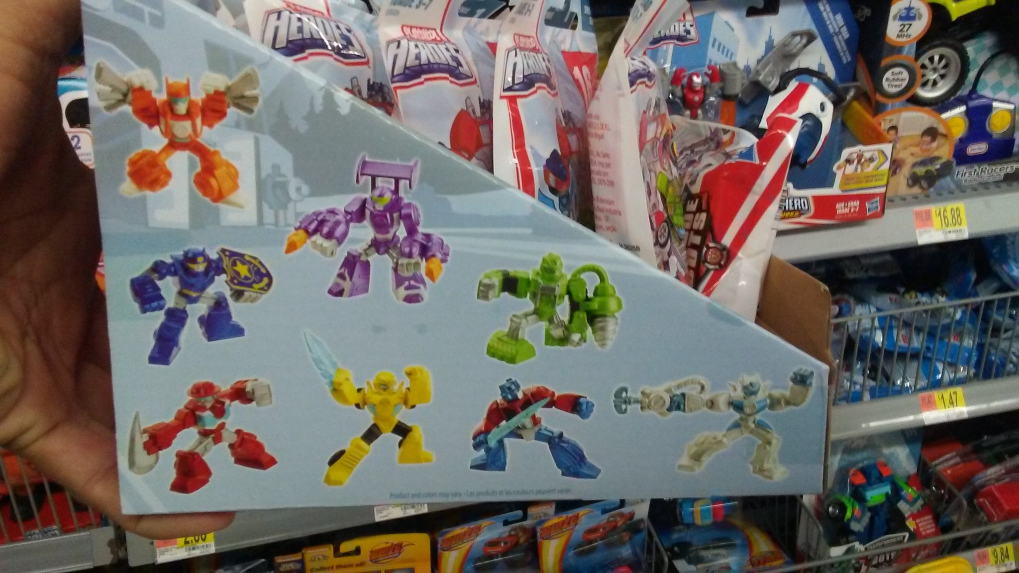 new rescue bots blind bags at walmart