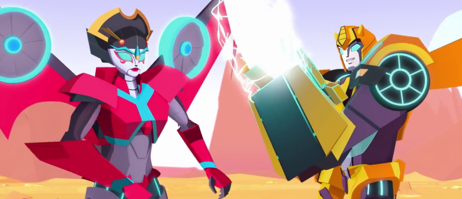 Transformers Cyberverse First Footage