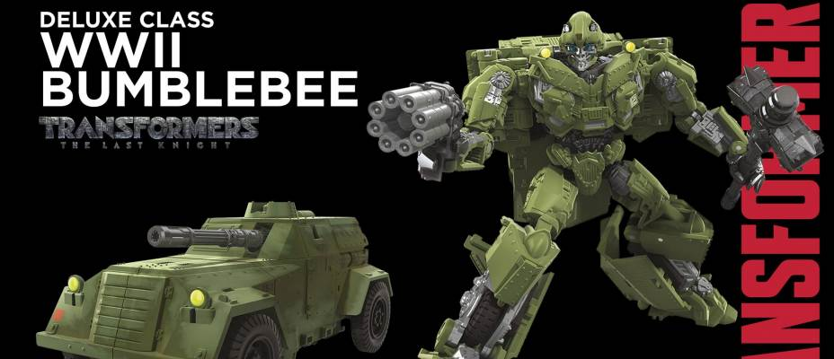 New Transformers Studio Series Figures Revealed - Barricade, WWII Bumblebee Sideswipe and More!