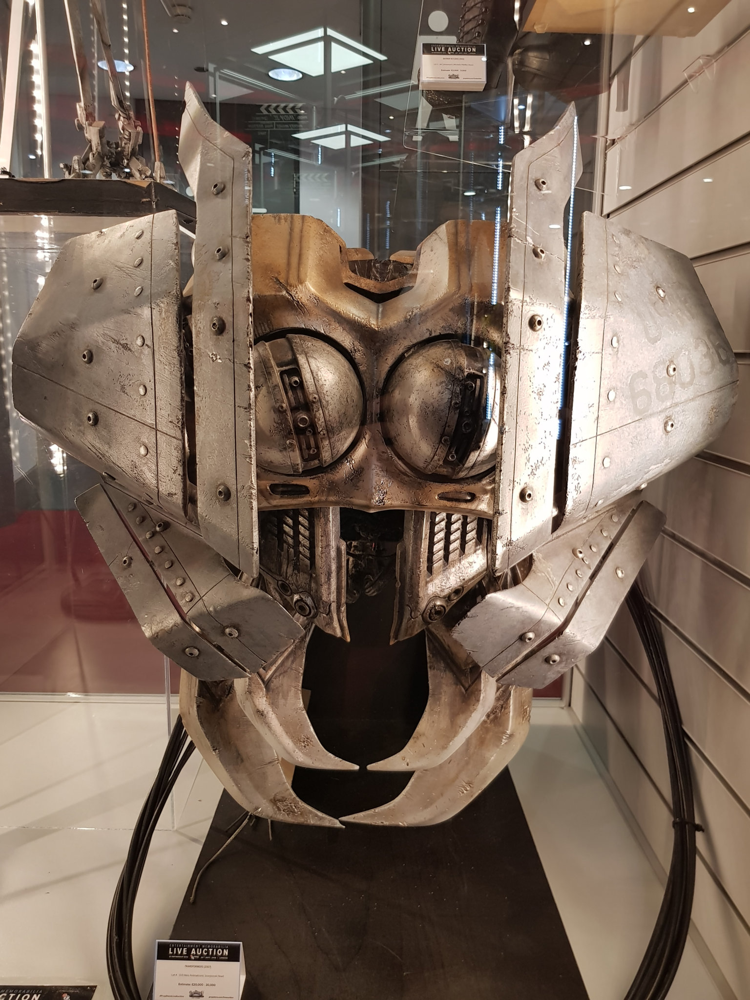 Transformers Movie Props On Display At Bfi Imax England