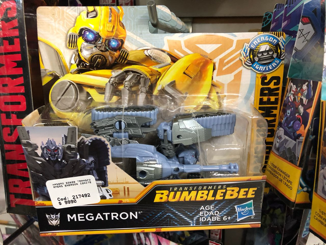 Bumblebee Movie Toys In Chile Energon Igniters Speed
