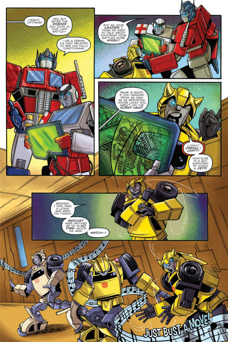 idw transformers bumblebee win    graphic  preview transformers news tfw