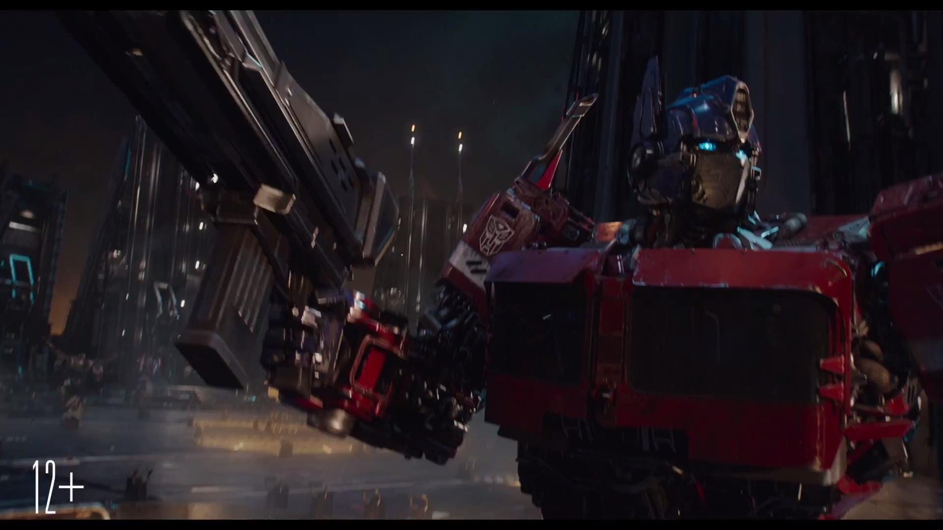 transformers: bumblebee movie trailer #3 hd screen caps - cybertron