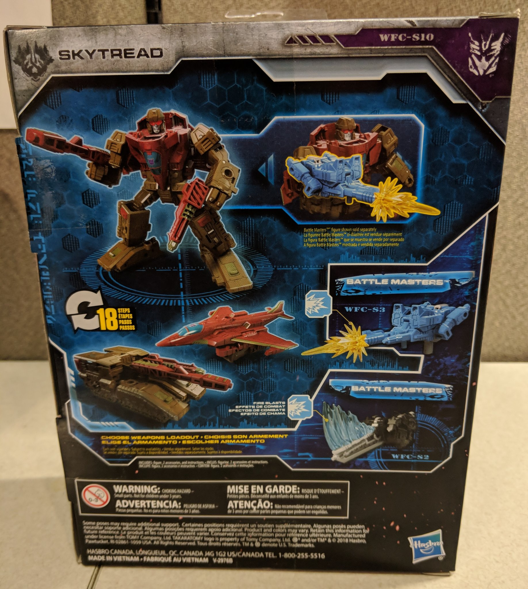 War For Cybertron: Siege Deluxe Skytread In-Hand Images