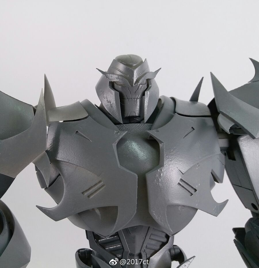 Transformers 5 Cars >> Iron Warrior Transformers Prime Megatron Action Figure Prototype - Transformers News - TFW2005