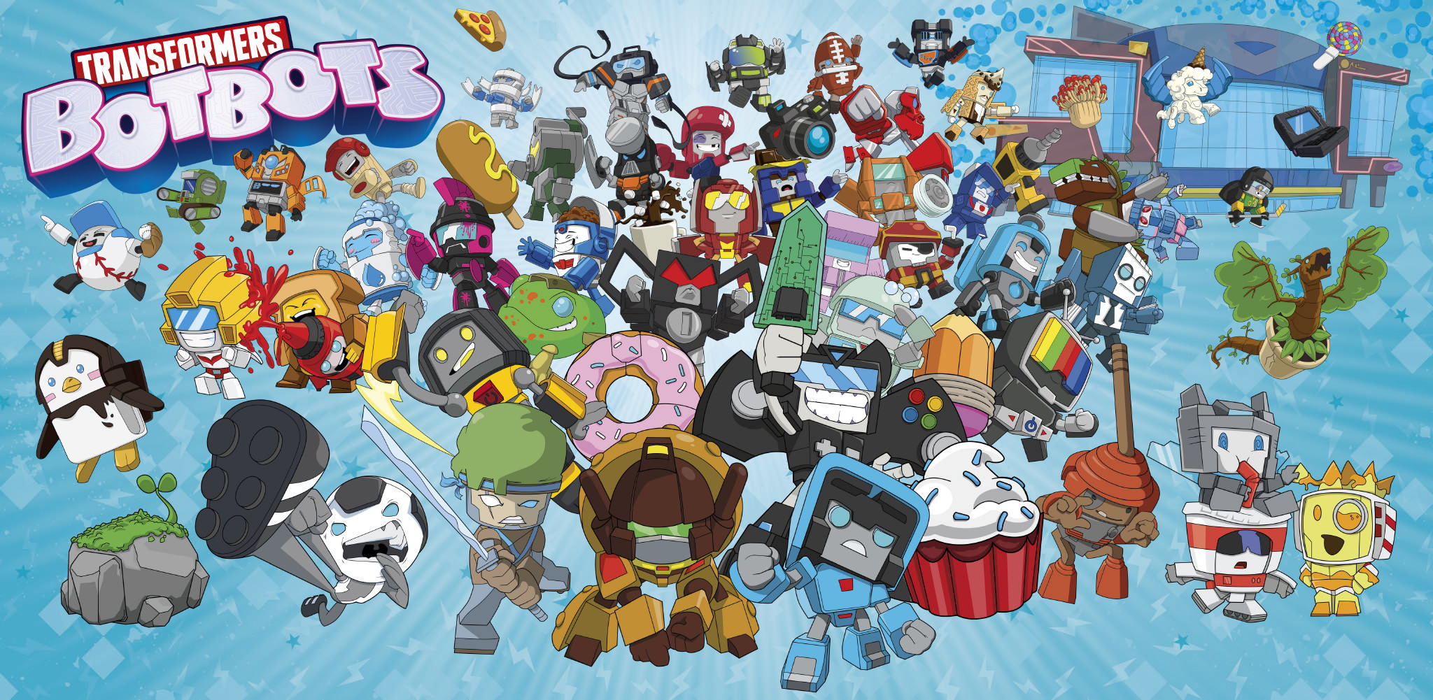 First Look At Transformers Botbots Toys