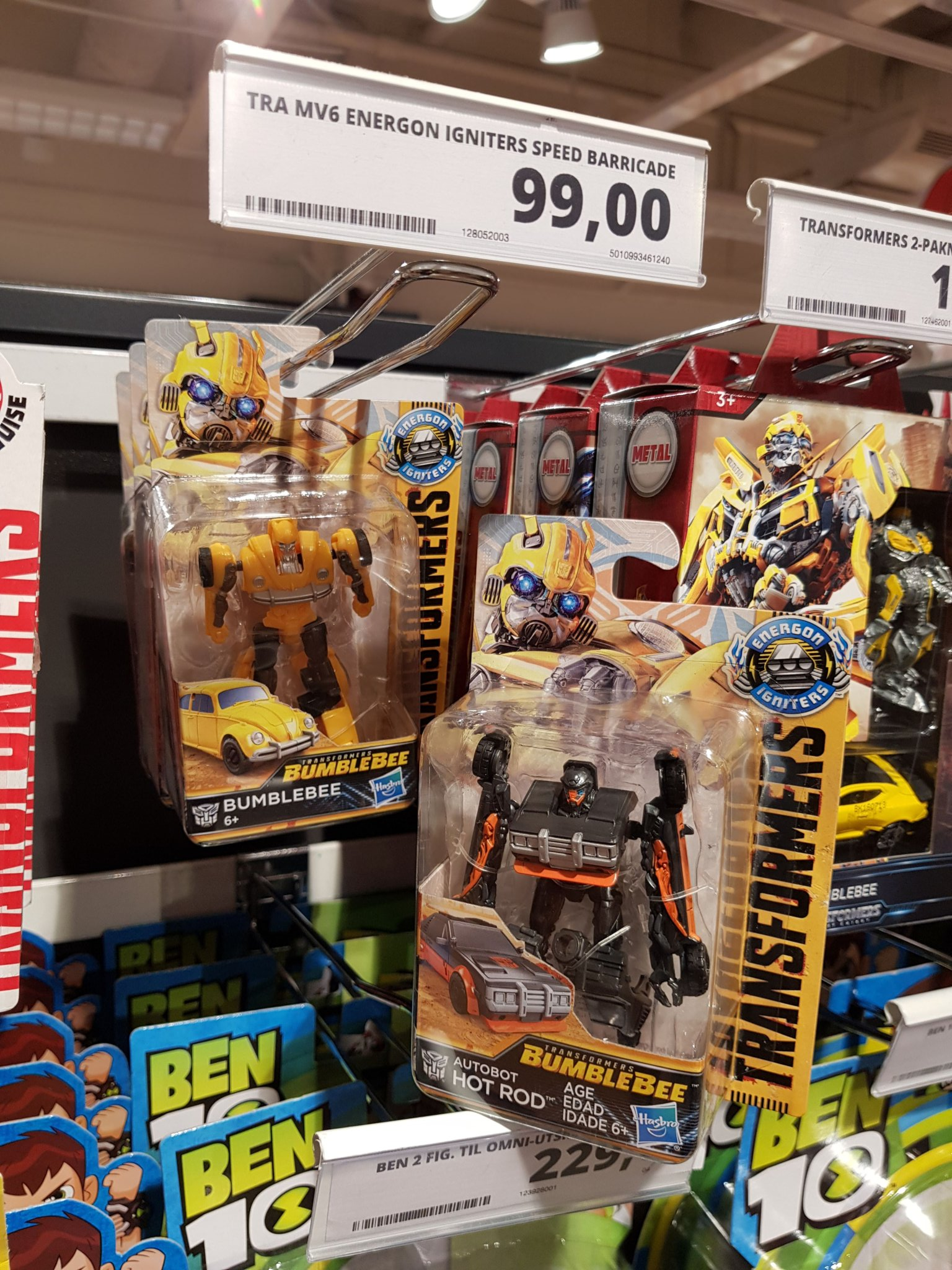 Bumblebee Movie Toys Out In Norway Transformers News