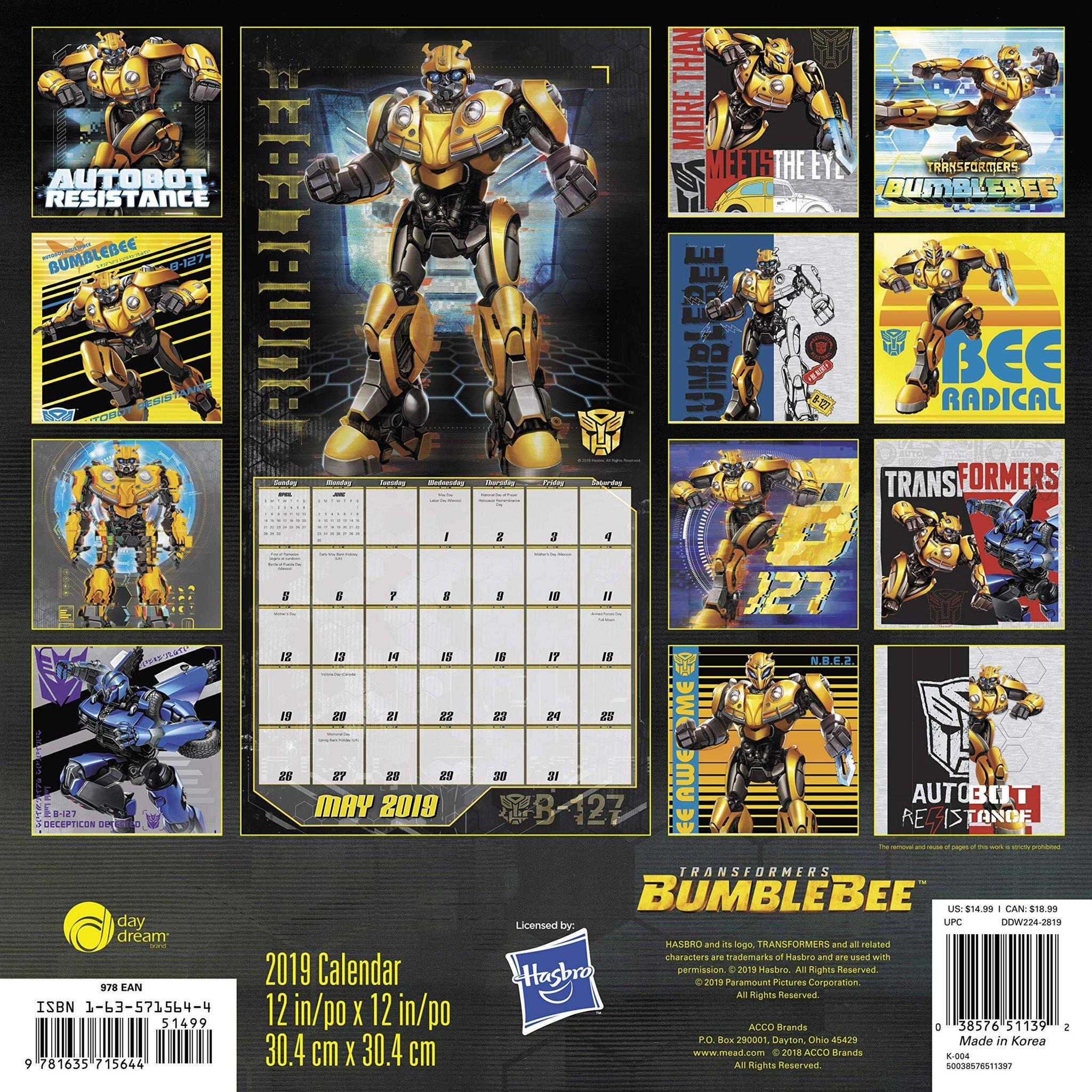Art Zone Calendar : Brand new transformers bumblebee promo art from wall