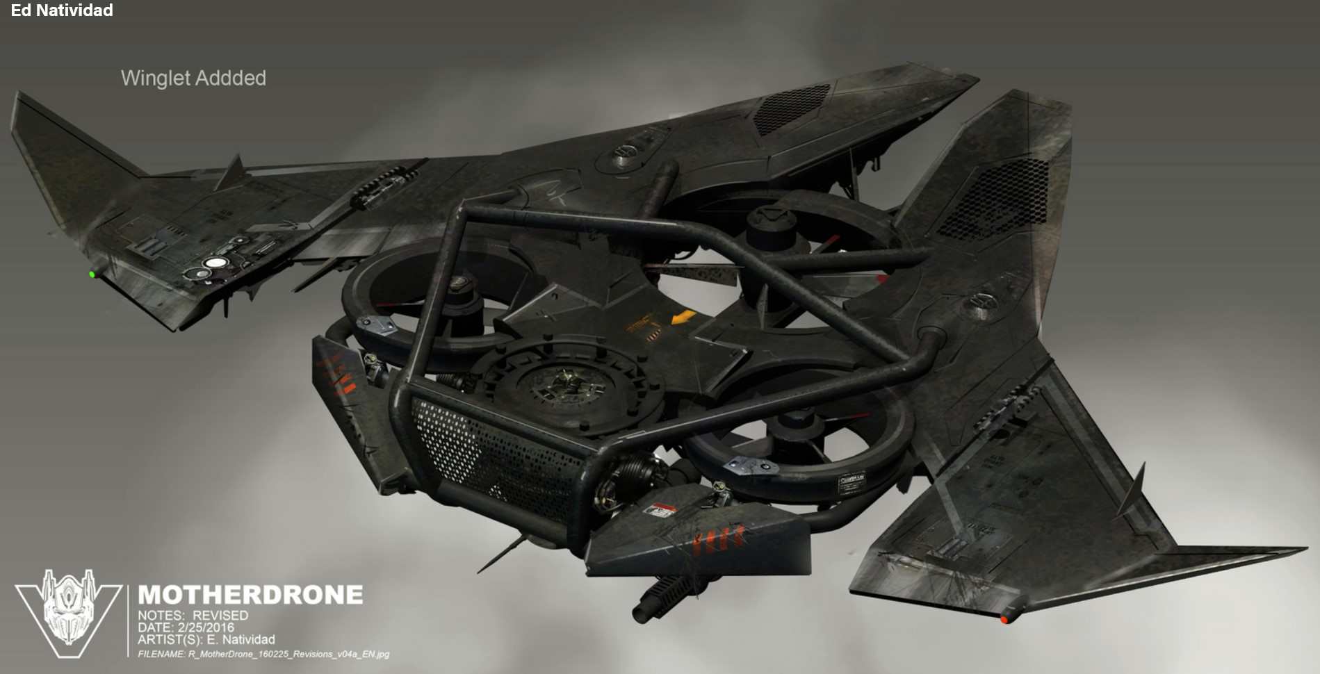 Transformers The Last Knight Concept Art By Ed Natividad