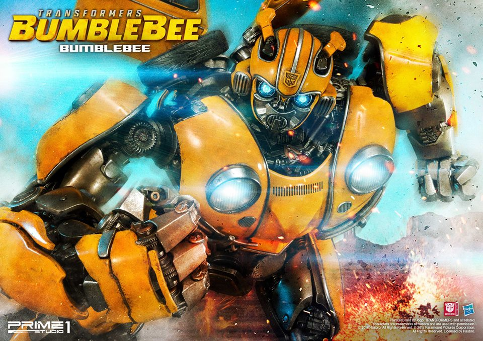 Bumbel Bee Movie: Prime 1 Studios MMTFM-24: Bumblebee Statue (Bumblebee 2018