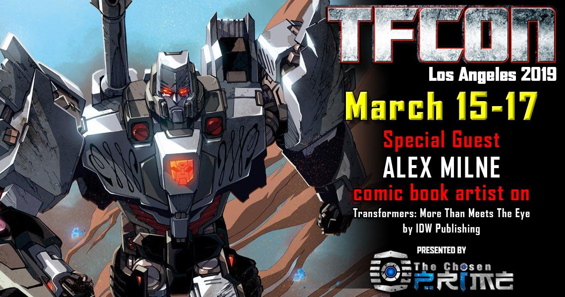 Transformers Artist Alex Milne To Attend TFcon Los Angeles 2019